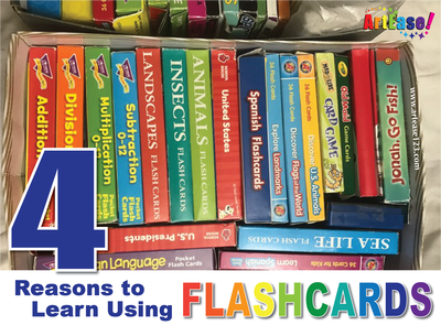 """Four (4) Reasons to Learn Using Flashcards"""