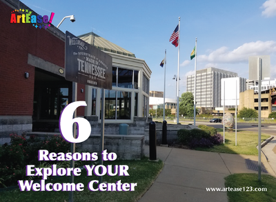 6 Ways to Explore Your Welcome Center - Downtown Memphis Visitor's Center