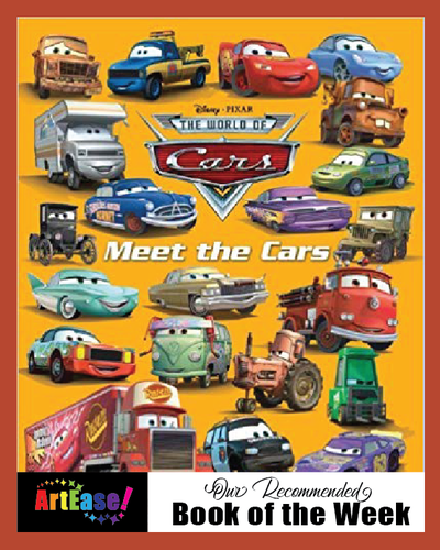 Disney Meet the Cars (Father's Day Book Melange)