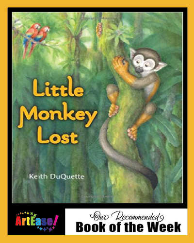 """Little Monkey Lost"" by Keith DuQuette"