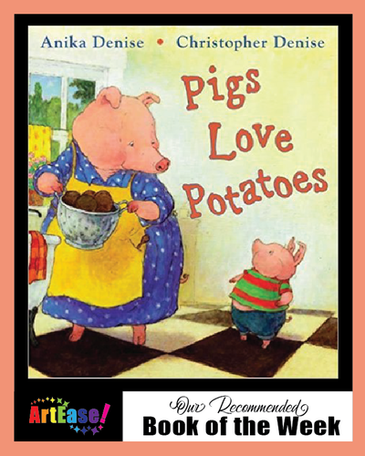 """Pigs Love Potatoes"" by Anika Denise"