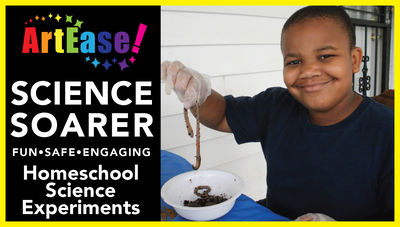 ArtEase! YouTube Video on Science Soarer: Homeschool Science Experiments