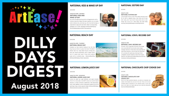 ArtEase! Dilly Days Digest 01, August 2018 YouTube Video