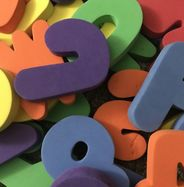 Foam Letters for Water Breaks and Language Arts