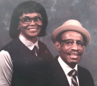 National Grandparents Day - Arnie & Ethel Lee Green