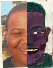 ArtEase! Art Class #3 Self-Portrait SYMMETRICALLY-SHAPED Selfie Xander Tolliver