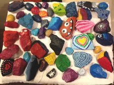 Summer Paint Club - Painted Rocks