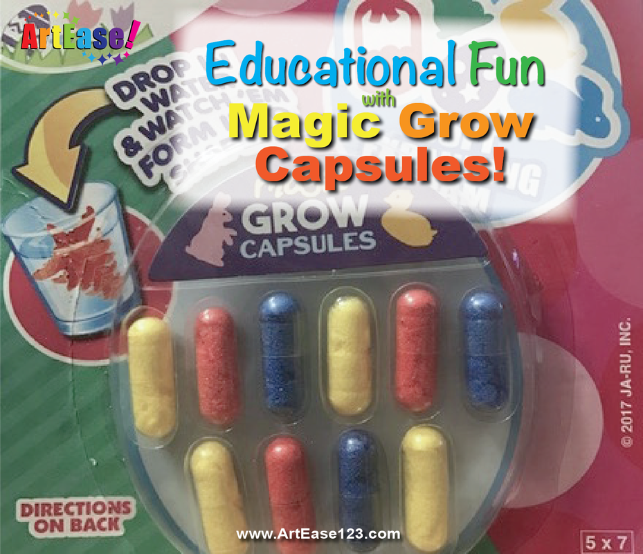 Magic Book for Growth Capsules