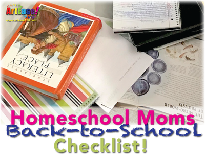 """Homeschool Moms Back-to-School Checklist!"""