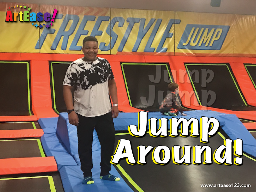 Jump Around! Xander at Urban Air Trampoline Park