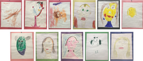 ArtEase! Students Art Lesson 1 Self Portraits