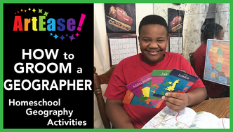 ArtEase! How to Groom a Geographer-Xander YouTube Video