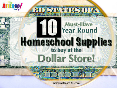 """Top 10 Must-Have Year Round Homeschool Supplies"""