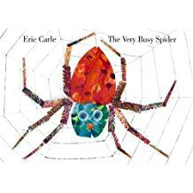"""The Very Busy Spider"" (Eric Carle)"