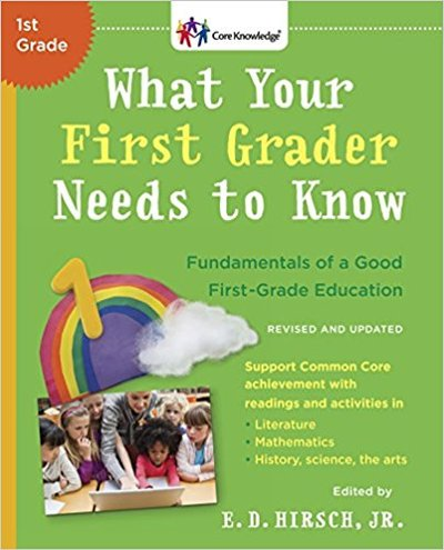 Everything your First Grader needs to know during his first grade to prepare for second grade