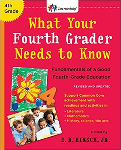 What your Fourth Grader needs to know before heading to fifth grade