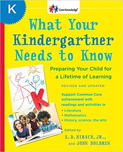 Everything your kindergartner needs to know prior to entering first grade