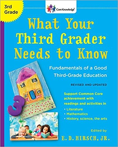What your Third Grader needs to know during his 3rd year of school